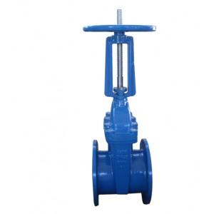 Relisient seat rising stem gate valve