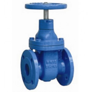 Metal seat no rising stem gate valve