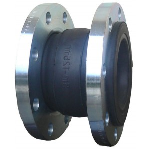 double flanges one sphere flexible rubber expansion joints