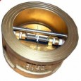 brass bronze wafer check valve